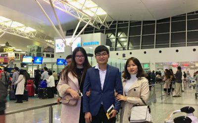 Thêm một kỹ sư của Nhật ngữ Kenmei lên đường đi Nhật Bản
